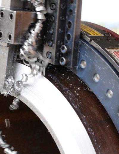 Projem On-site machining 045